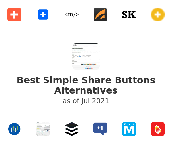 Best Simple Share Buttons Alternatives
