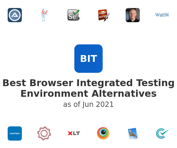 Best Browser Integrated Testing Environment Alternatives