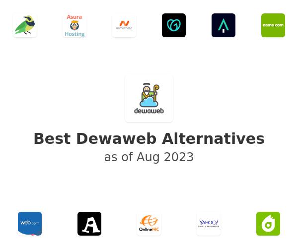 Best Dewaweb Alternatives