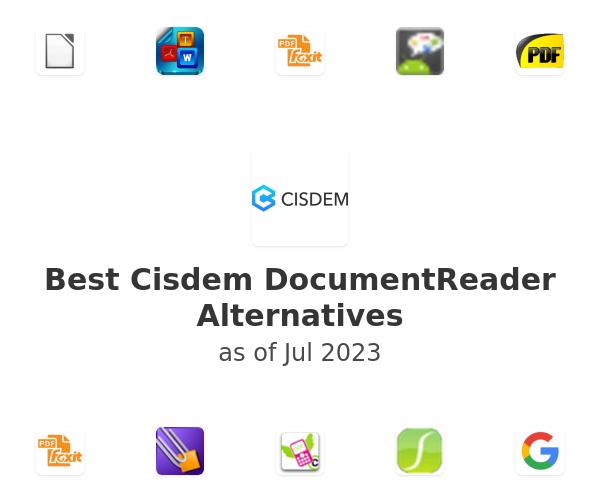 Best Cisdem DocumentReader Alternatives