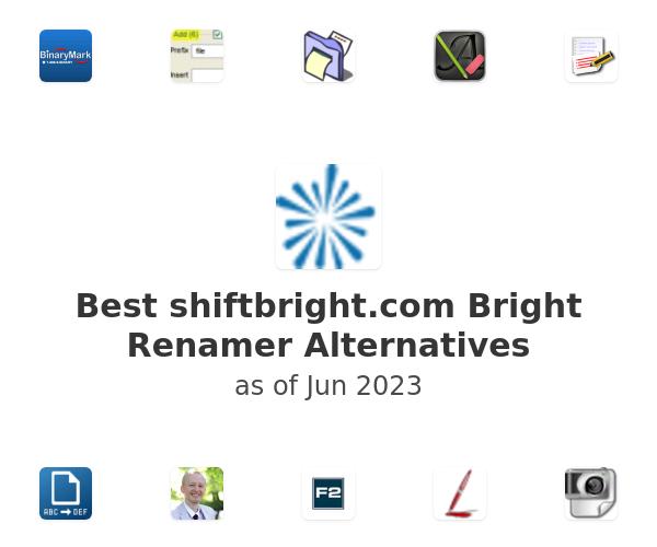 Best Bright Renamer Alternatives