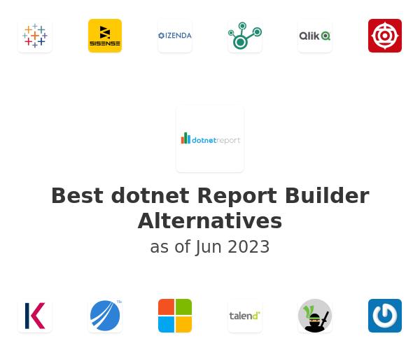 Best dotnet Report Builder Alternatives