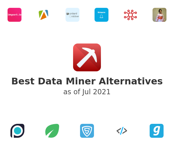 Best Data Miner Alternatives