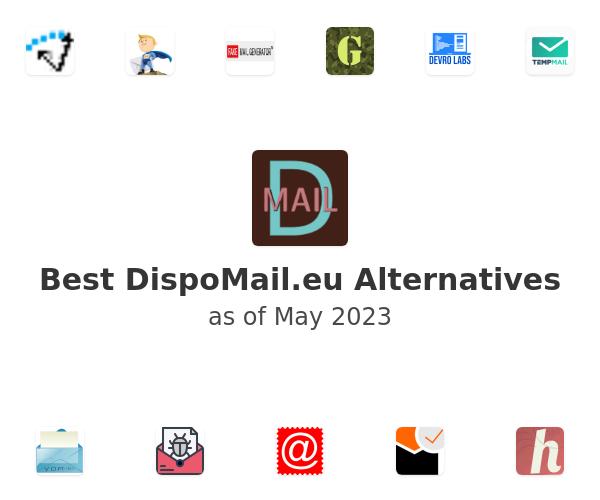 Best DispoMail.eu Alternatives