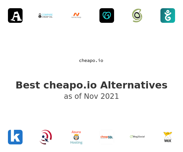 Best cheapo.io Alternatives