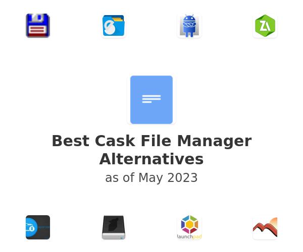 Best Cask File Manager Alternatives