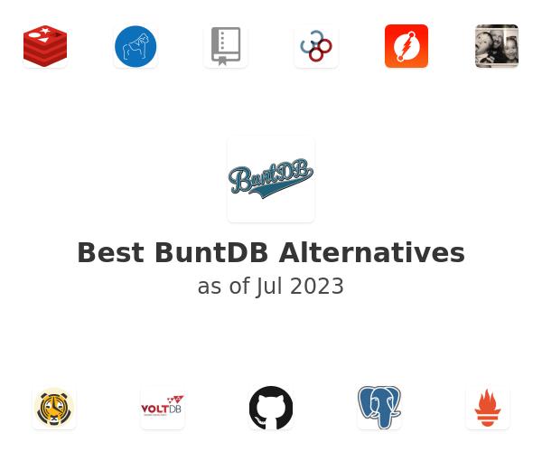 Best BuntDB Alternatives