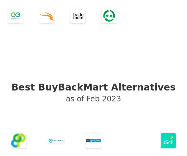Best BuyBackMart Alternatives
