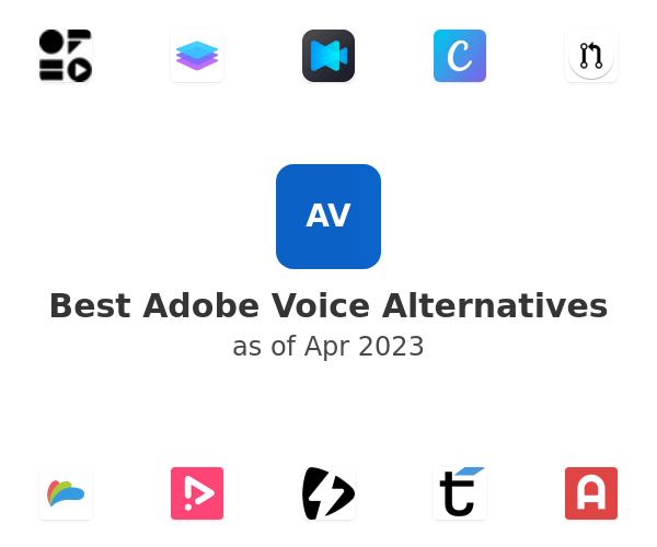 Best Adobe Voice Alternatives