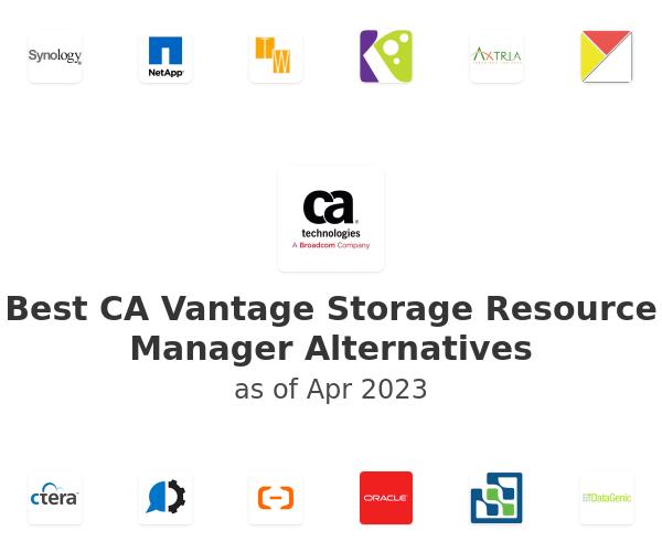 Best CA Vantage Storage Resource Manager Alternatives