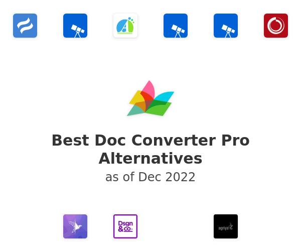 Best Doc Converter Pro Alternatives