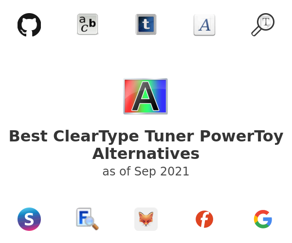 Best ClearType Tuner PowerToy Alternatives