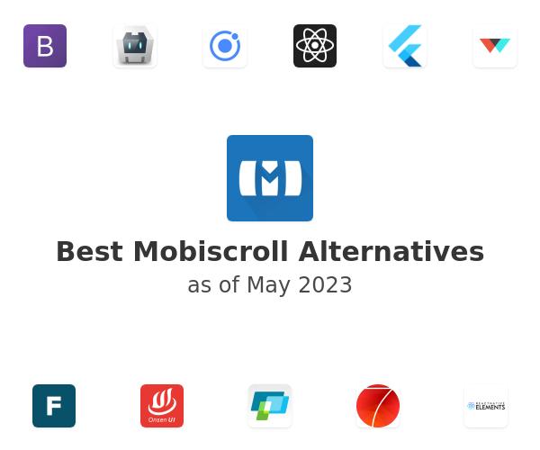 Best Mobiscroll Alternatives