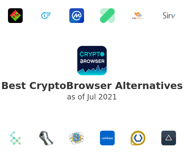 Best CryptoBrowser Alternatives