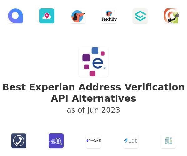 Best Experian Address Verification API Alternatives