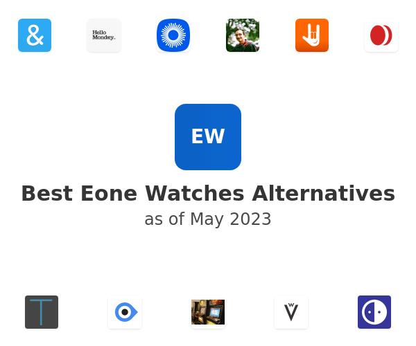 Best Eone Watches Alternatives