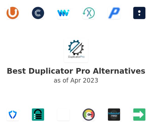 Best Duplicator Pro Alternatives