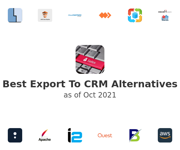 Best Export To CRM Alternatives