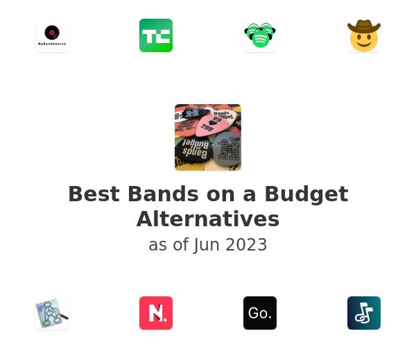 Best Bands on a Budget Alternatives