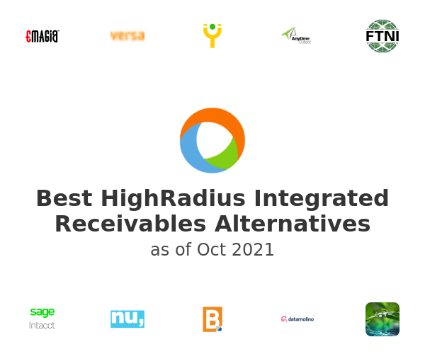 Best HighRadius Integrated Receivables Alternatives