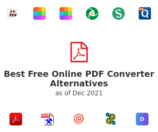 Best Free Online PDF Converter Alternatives