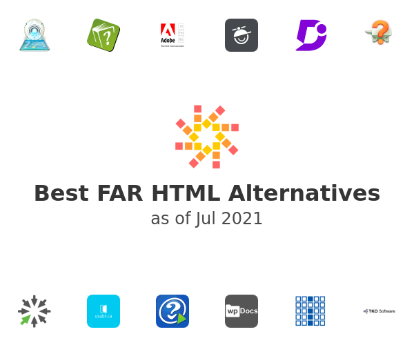 Best FAR HTML Alternatives