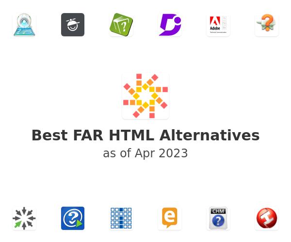 Best FAR HTML Alternatives