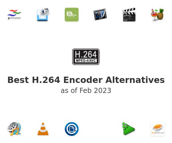 Best H.264 Encoder Alternatives