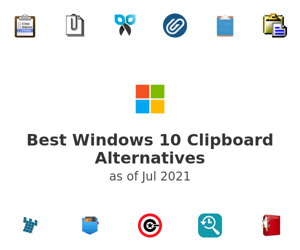 Best Windows 10 Clipboard Alternatives
