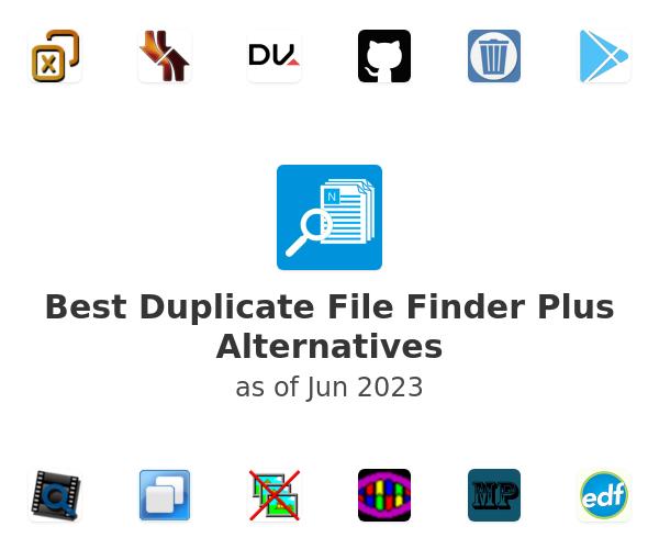 Best Duplicate File Finder Plus Alternatives