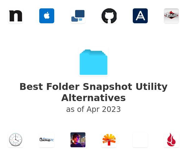 Best Folder Snapshot Utility Alternatives