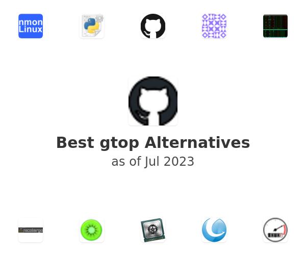 Best gtop Alternatives