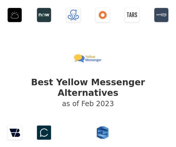 Best Yellow Messenger Alternatives