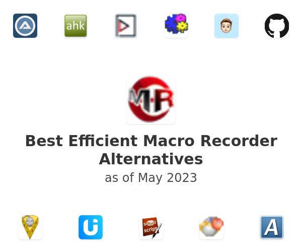 Best Efficient Macro Recorder Alternatives