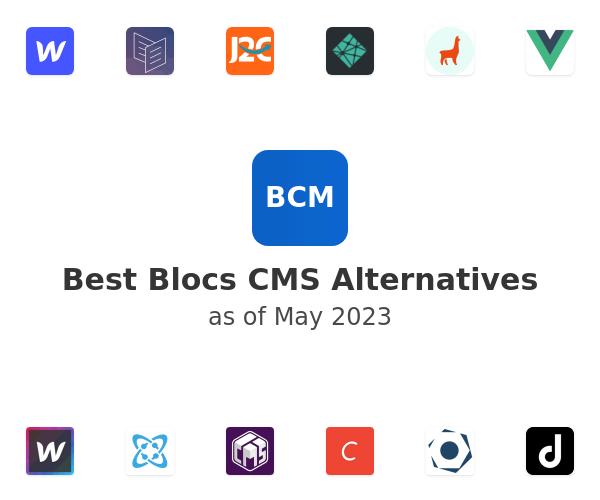 Best Blocs CMS Alternatives