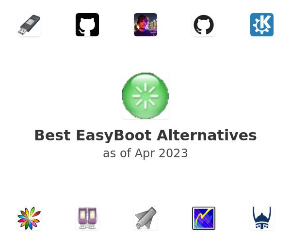 Best EasyBoot Alternatives