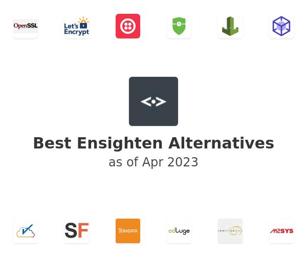 Best Ensighten Alternatives