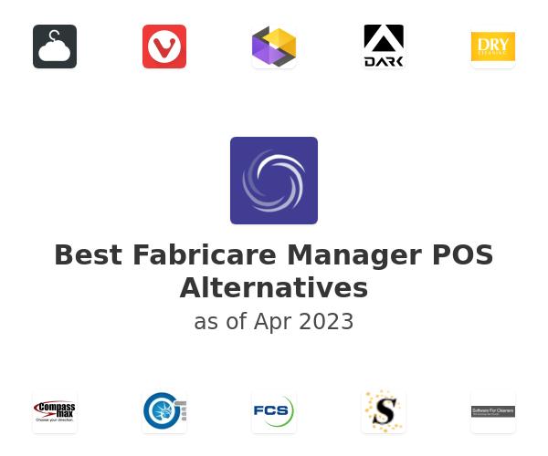 Best Fabricare Manager POS Alternatives