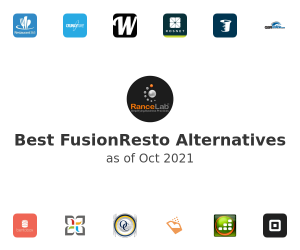 Best FusionResto Alternatives
