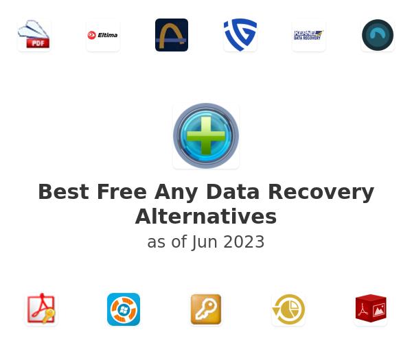Best Free Any Data Recovery Alternatives