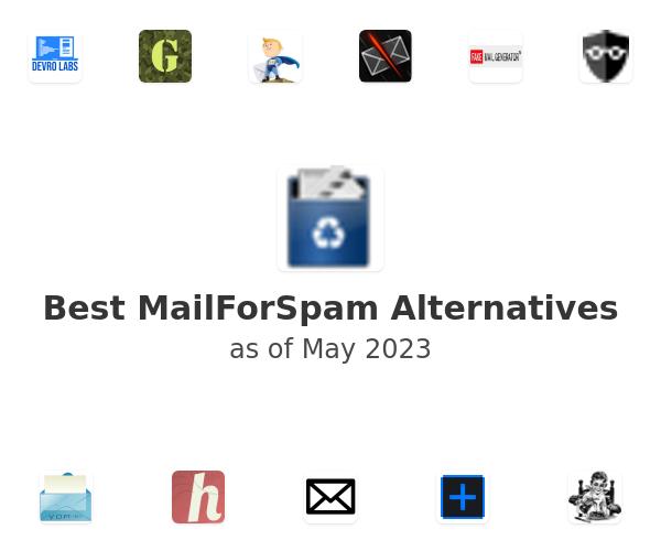Best MailForSpam Alternatives