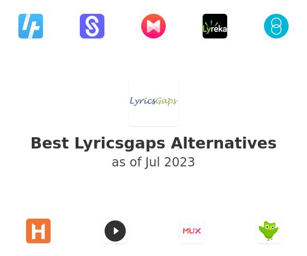 Best Lyricsgaps Alternatives