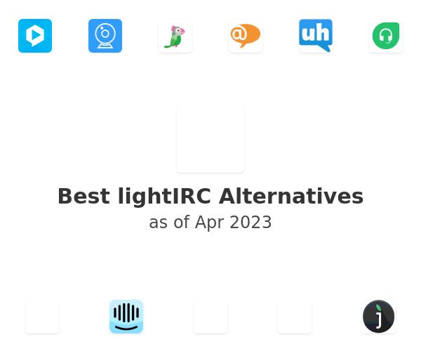 Best lightIRC Alternatives