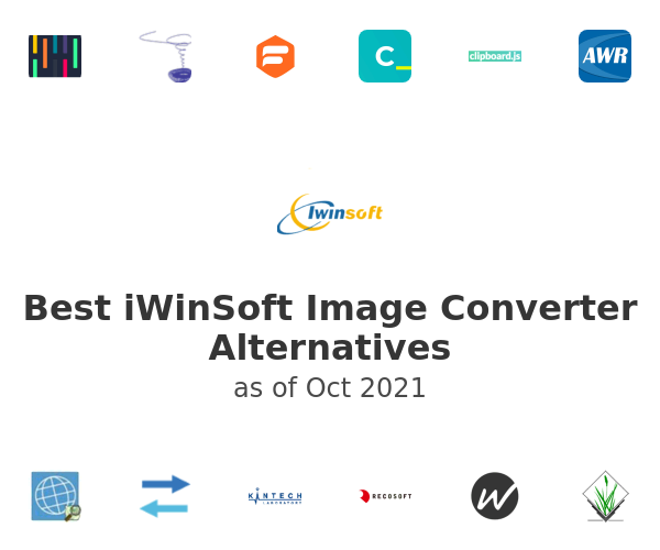 Best iWinSoft Image Converter Alternatives