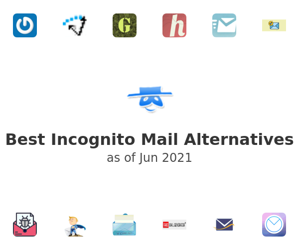 Best Incognito Mail Alternatives