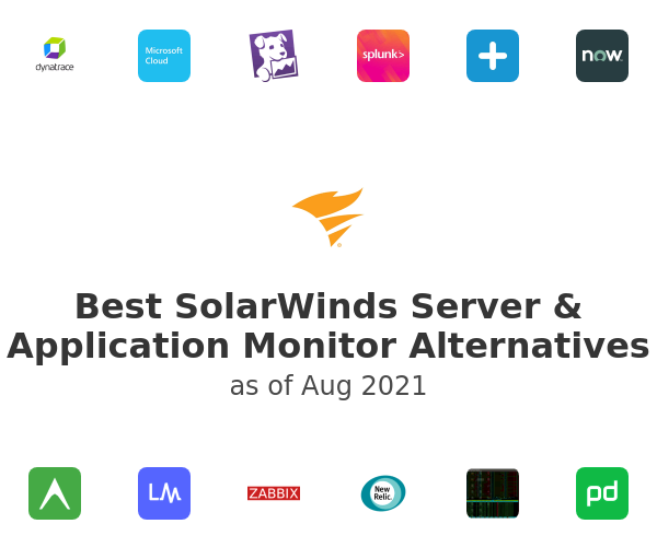 Best SolarWinds Server & Application Monitor Alternatives