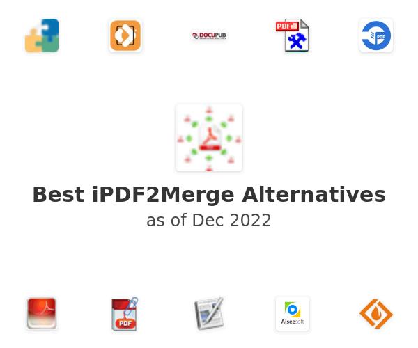 Best iPDF2Merge Alternatives