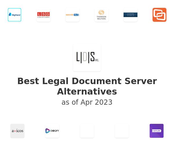 Best Legal Document Server Alternatives