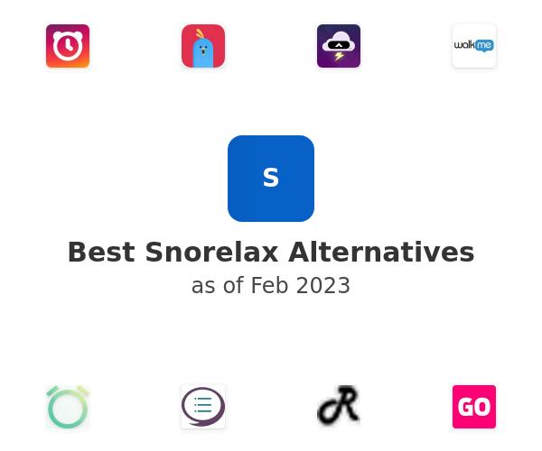 Best Snorelax Alternatives
