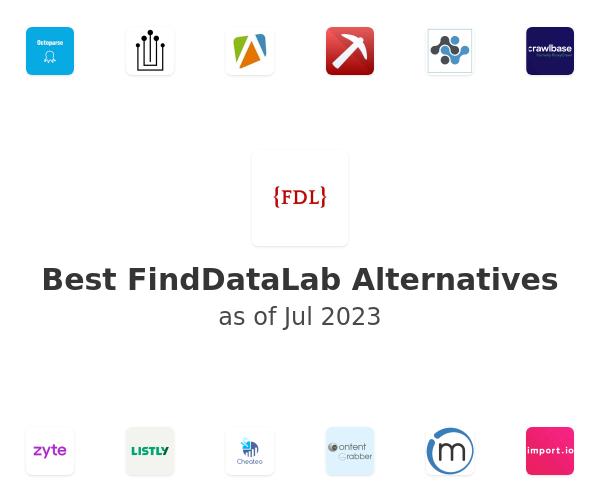 Best FindDataLab Alternatives